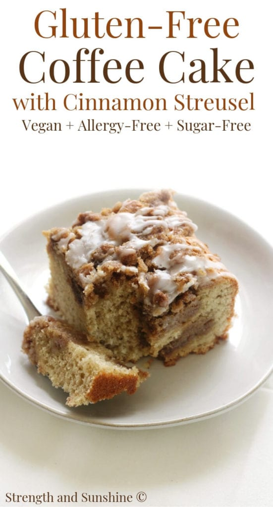 Gluten Free Coffee Cake Streusel