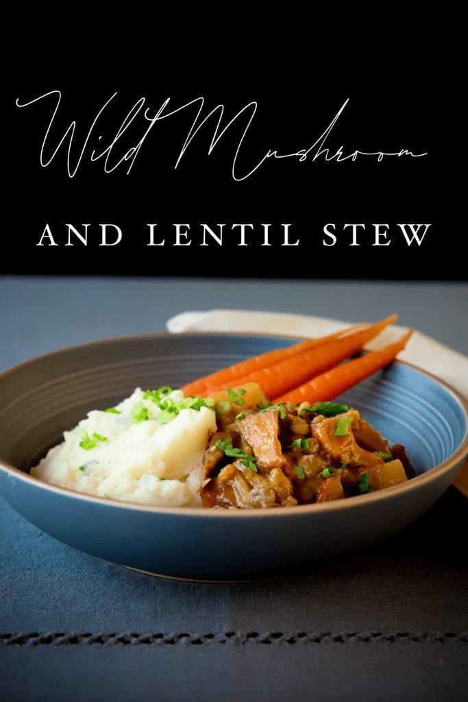 Mushroom Lentil Stew