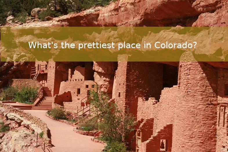 Prettiest places in Colorado